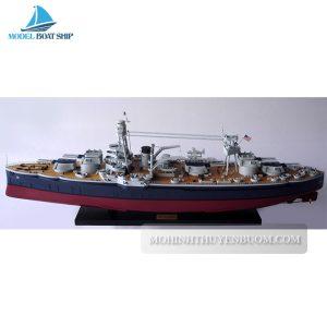 Mô hình thuyền chiến USS TEXAS (BB-35)