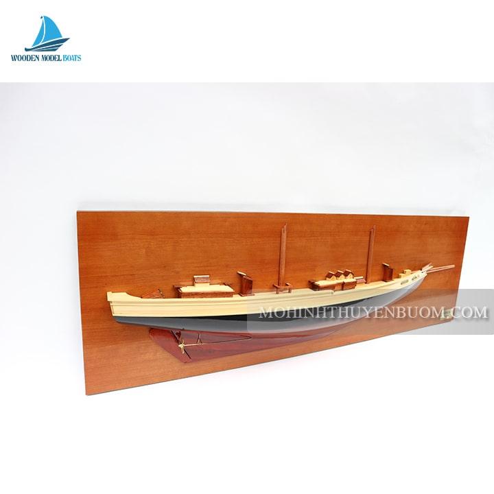 Thuyền Tranh BLUENOSE II HALF-HULL