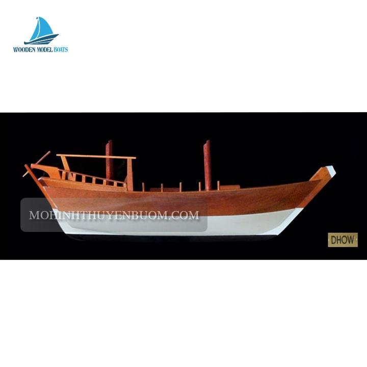 Thuyền Tranh DHOW HALF-HULL