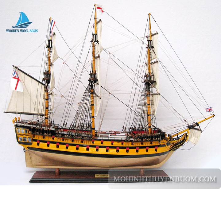 Mô hình thuyền gỗ HMS AGAMEMNON