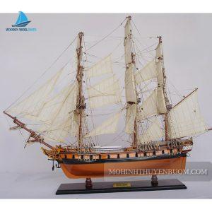 Mô hình thuyền gỗ HMS ESSEX
