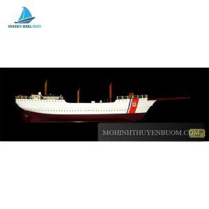 Thuyền Tranh US COAST GUARD HALF-HULL